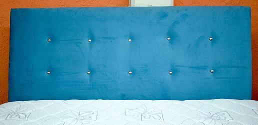 Respaldo Celeste Articulos para tapiceria