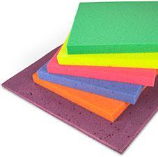 Placas de espuma de colores Mayorista de colchones y almohadas
