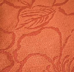 Siena Flores Brick 08 Telas para tapiceria